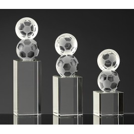 Trophy Crystal High Quality Football