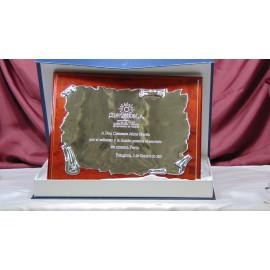 Commemorative Plaque 24,5cm x 19,5cm