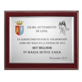 Commemorative Plaque 29cm x 23cm